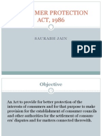 Consumer Protection Act, 1986 (2)