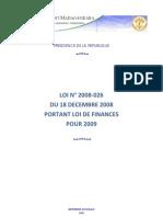Loi de Finance 2009