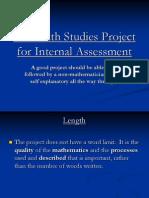 MS Internal Assessment Power Point