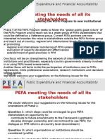 PEFA Stakeholders- Presentation -EnG