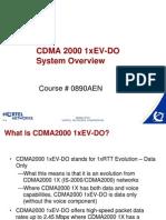 EvDo Course 890