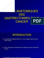 4 - Bases Des Gastrectomies - Dr Haddam