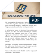 Realtor Density Study
