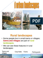 Rural and Urban Landscapes Unit 11 Pp REDIFINITIVO