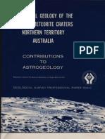 Henbury Meteorite Craters Australia USGS