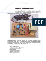 Regulated Dc Power Supply Lab Assignment