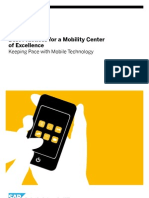 Best Practices for a Mobility Center of Excellence