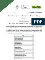 Ivana FiuCruz Relação de Aprovados edital830v34