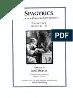 Dubuis, Jean - Spagyrics Vol 2