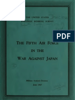USSBS Report 71, The Fifth Air Force in the War Against Japan