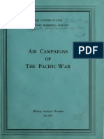 USSBS Report 71a, Air Campaigns of the Pacific War