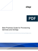 PVS - PVS for XenApp Best Practices
