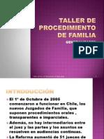 Taller de Procedimiento de Familia (1)