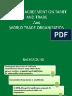 GATT and WTO - Foundation