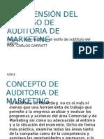 COMPRENSIÓN DEL PROCESO DE  AUDITORIA DE MARKETING