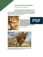 Swarm Prevention by Demaree Method