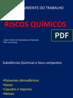 AULA DE RISCOS QUÍMICOS