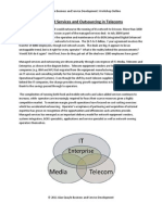 Managed Services and Outsourcing in Telecoms Course Issue 1