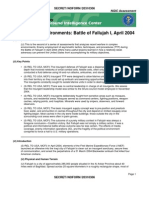Fallujah - http://wikileaks.org/leak/fallujah.pdf