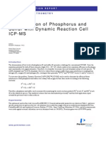 Phosphorus by ICP-MS DRC