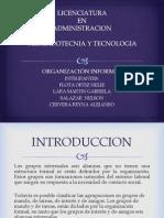 Mecadotecnia Organizacion Informal