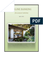 52223082 Project Report on Online Banking