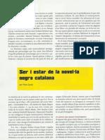 Ser i estar de la novel·la negra catalana