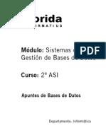 apuntes de bases de datos (teoría y ejercicios)