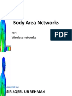 WBAN - Presentation - Wireless Networks