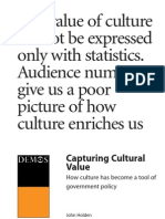 Capturing Cultural Value