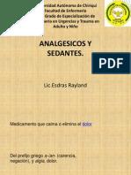 Charla-Analgesicos y Sedantes