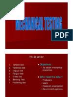 13 Mechanical Testing