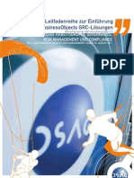 BESt-PRACtiCE-LEitfADEn zuR EinfühRunG DER. SAP BuSinESSOBjECtS GRC-LöSunGEn