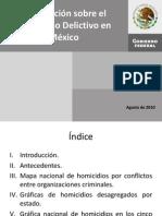 ion Sobre El Fenomeno Delictivo en Mexico