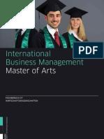 m International Business Management 201101