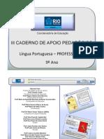9AnoLPortuguesaProfessor3CadernoNovo