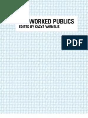 Networked Publics Mass Media Internet