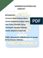 Informe de Introduccion a La Mecatronica