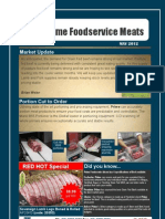 Prime Food Service Meats Newsletter