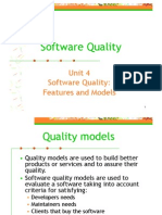 Software Quality Features Models