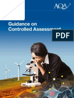 Aqa Science Controlled Assessment Leaflet