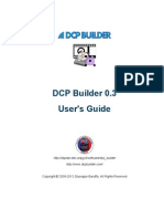 DCP Builder User's Guide