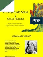 01. Conceptos de Salud, Salud Pública y FESP