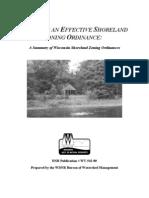WI Shoreland Zoning Ordinance Brief Summary