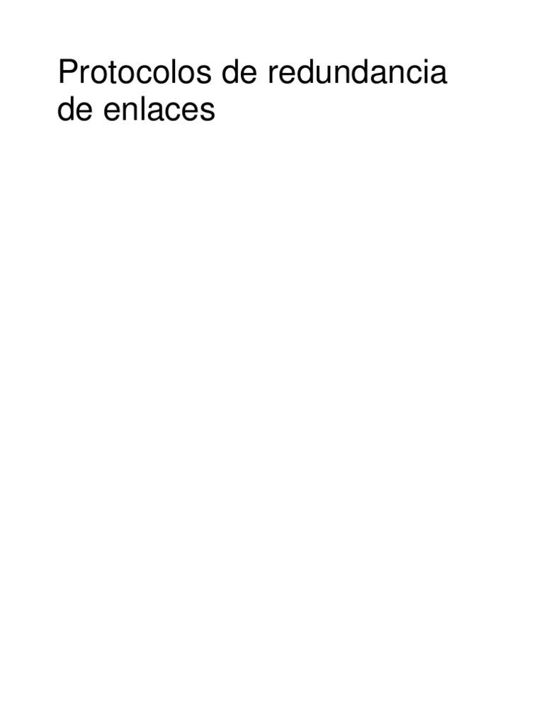 Protocolos_de_Redundancia | Communications Protocols
