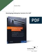 Sappress Developing Enterprise Services