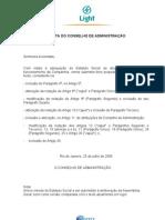 2006 07 25 Proposta da Administra