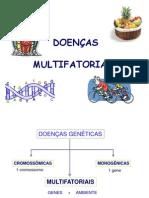 doenças multifatoriais
