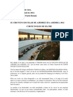 Ix Circuito Escolar de Ajedrez Ifa -Corte Ingles de Elche