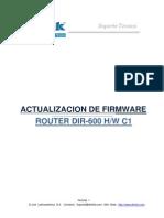 Manual Actualizacion Firmware Dir-600c1